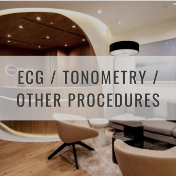 ECG, Tonometry, Other Procedures