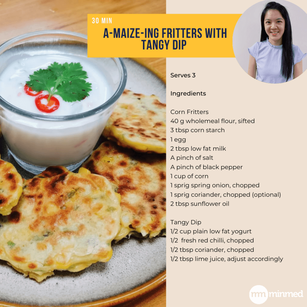 A-maize-ing Fritters with Tangy Dip